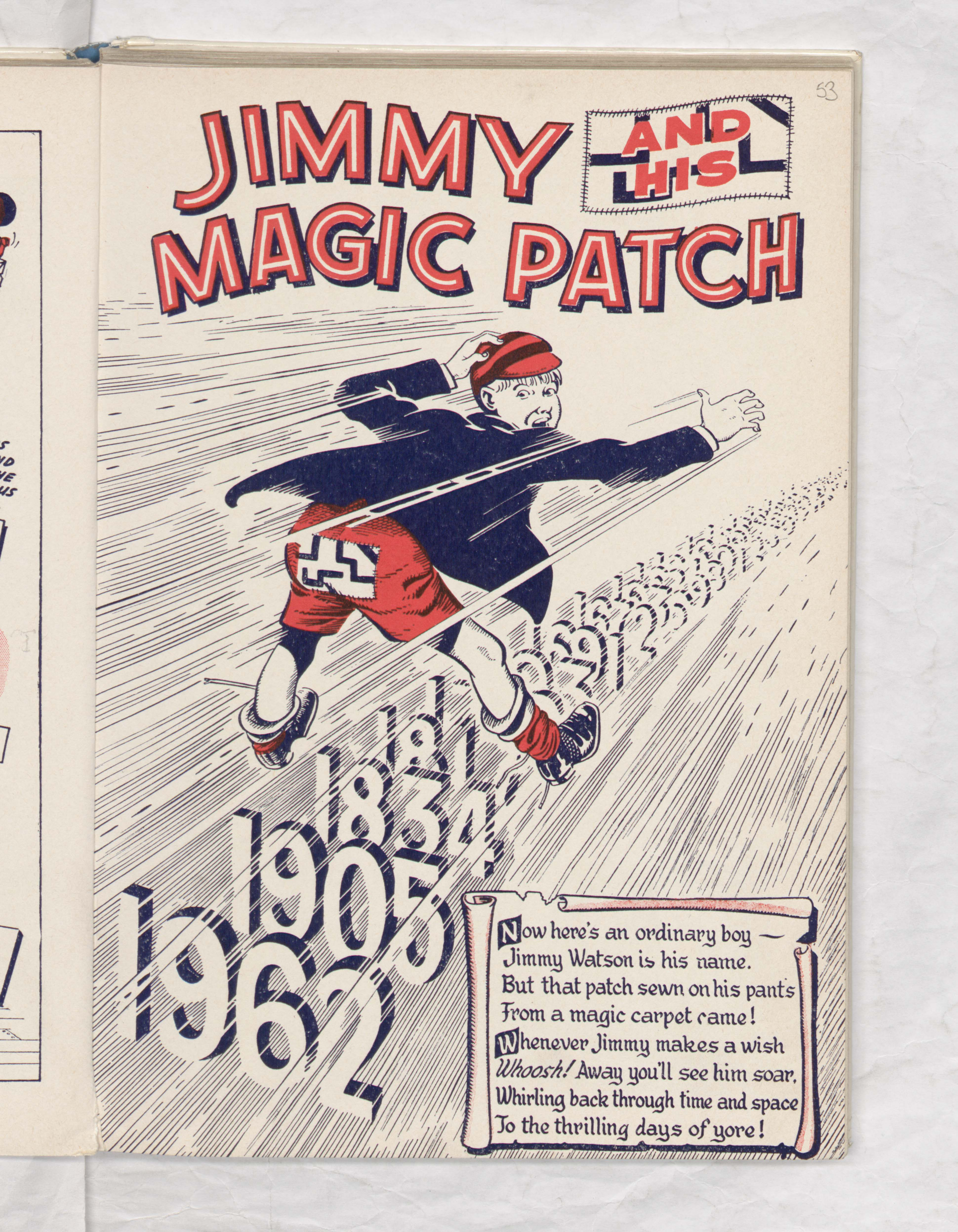 Jimmy and his Magic Patch - Beano Book 1963 Annual