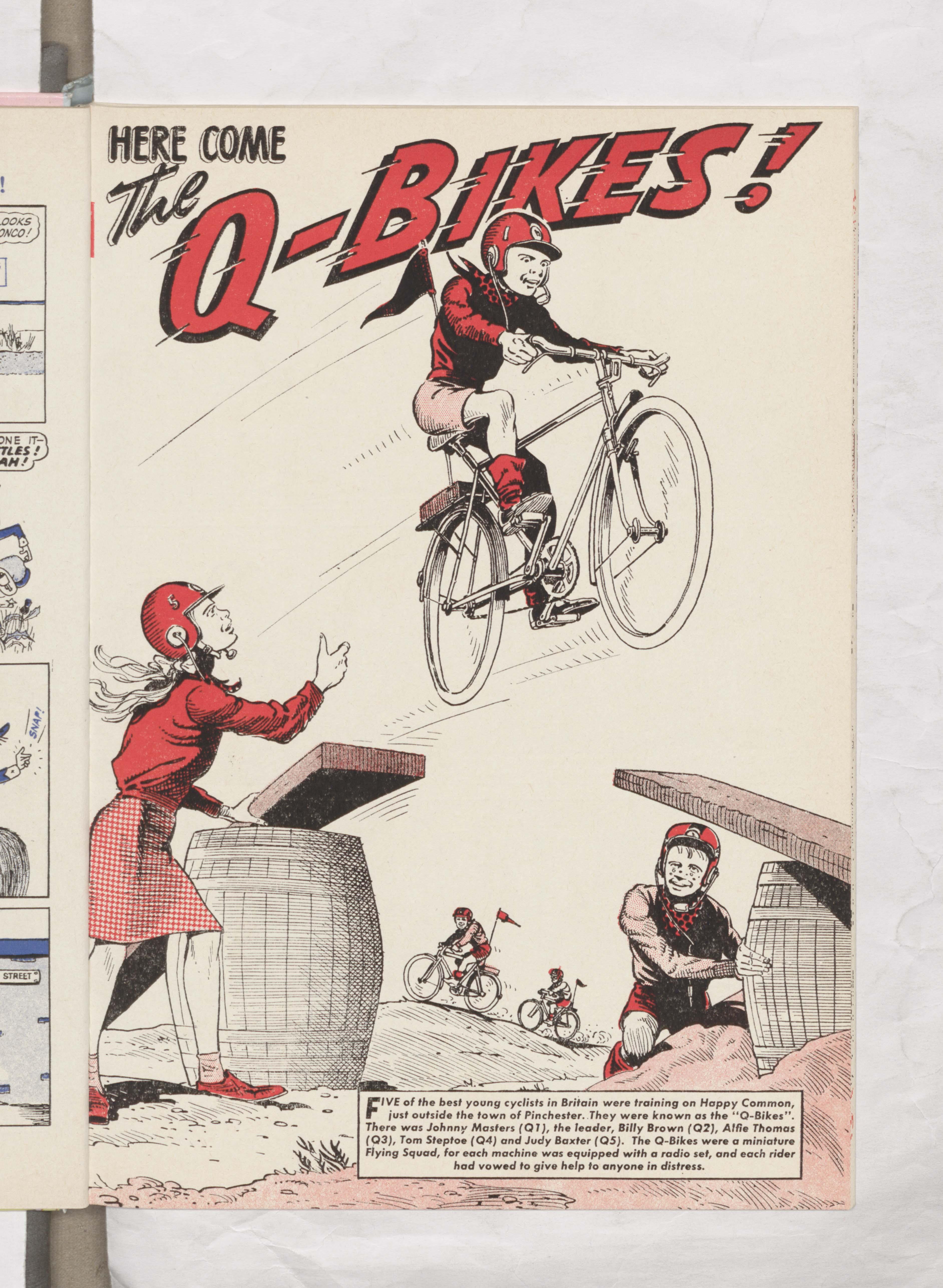 Q-Bikes - Beano Book 1964
