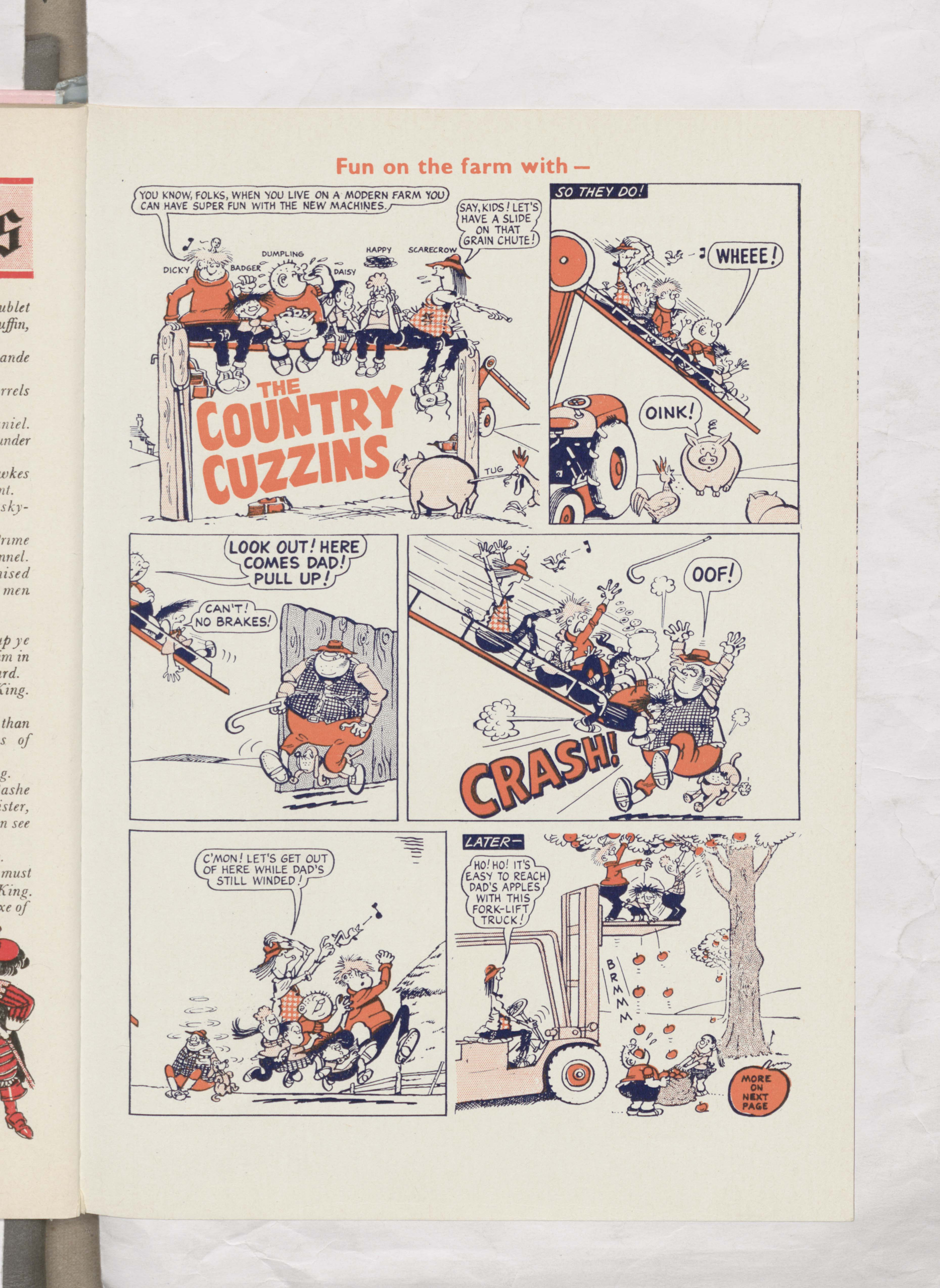 Country Cuzzins - Beano Book 1964