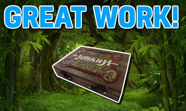 A Jumanji board game