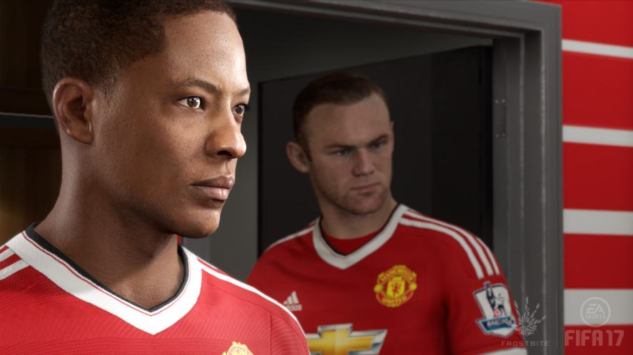 Alex Hunter in FIFA 17