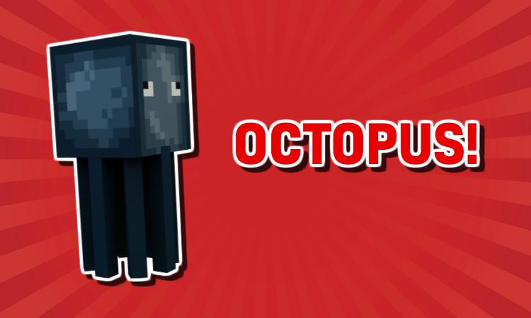 Minecraft Octopus