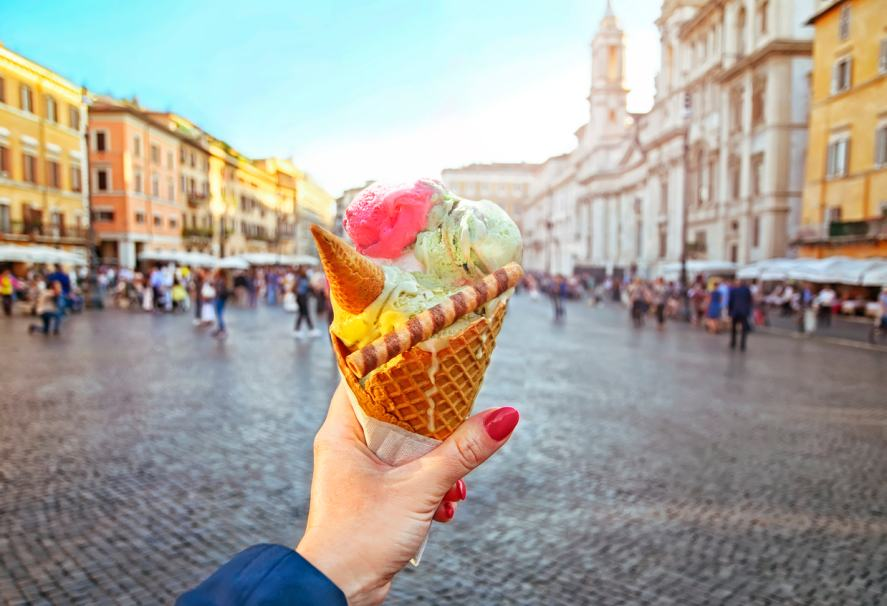An amazing ice cream