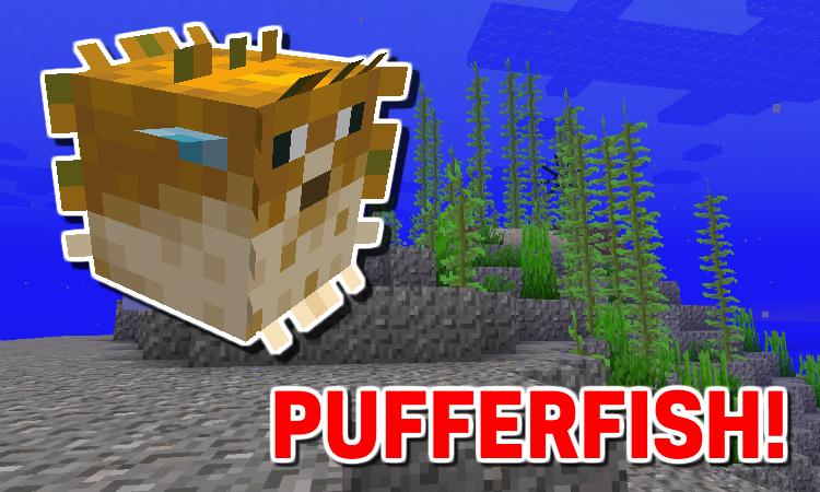 Minecraft Pufferfish