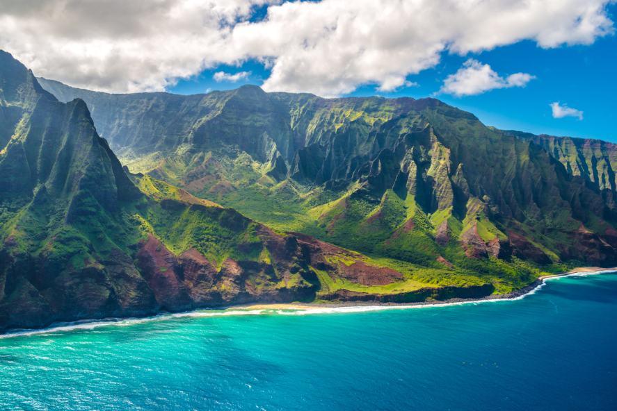 A Hawaiian coast