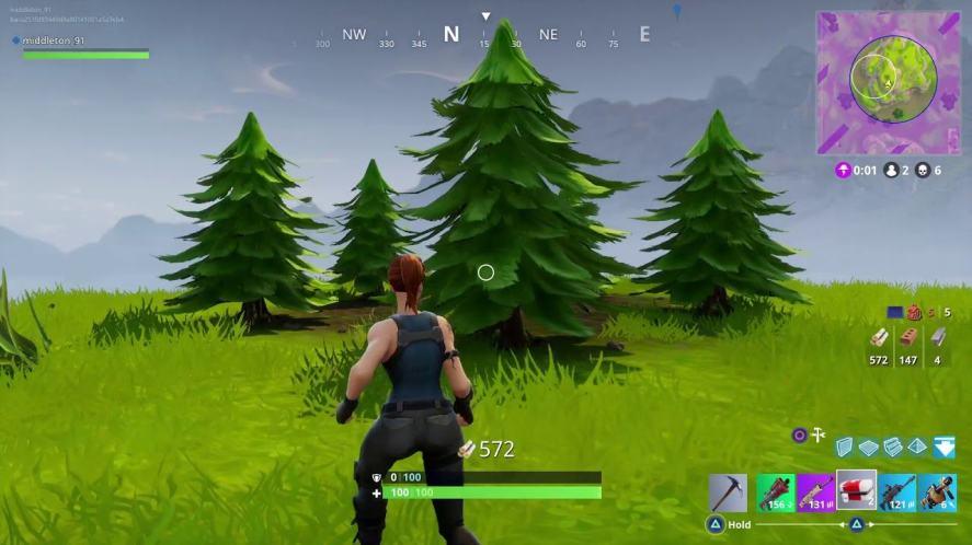 Fornite trees tip
