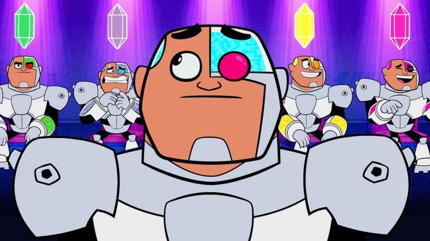 Cyborg in Teen Titans Go!