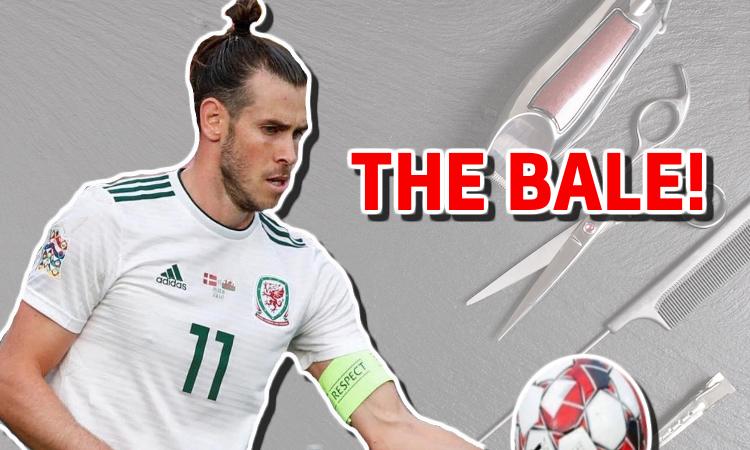 Gareth Bale –football hairstyles