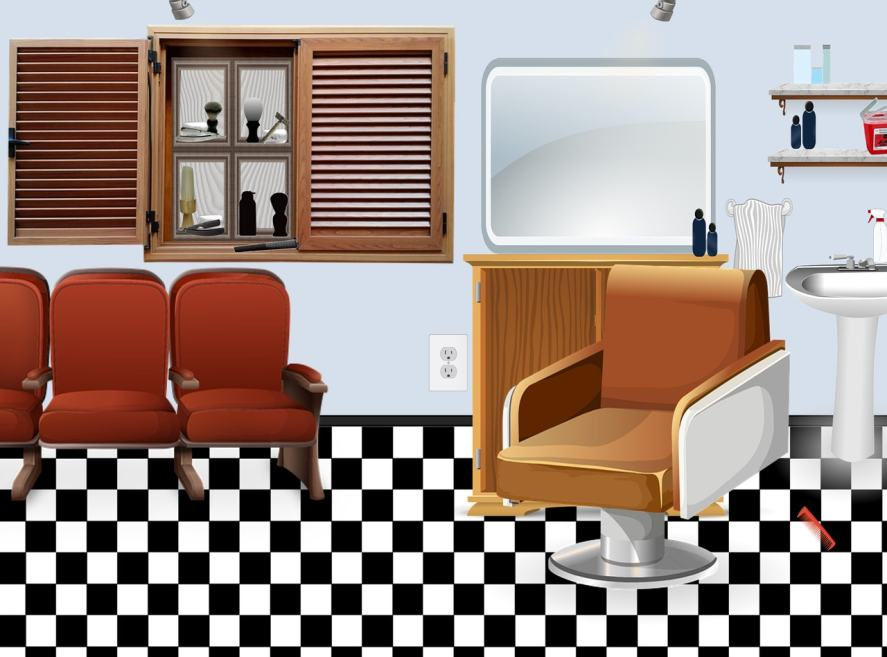 A picture of a hairdressing salon
