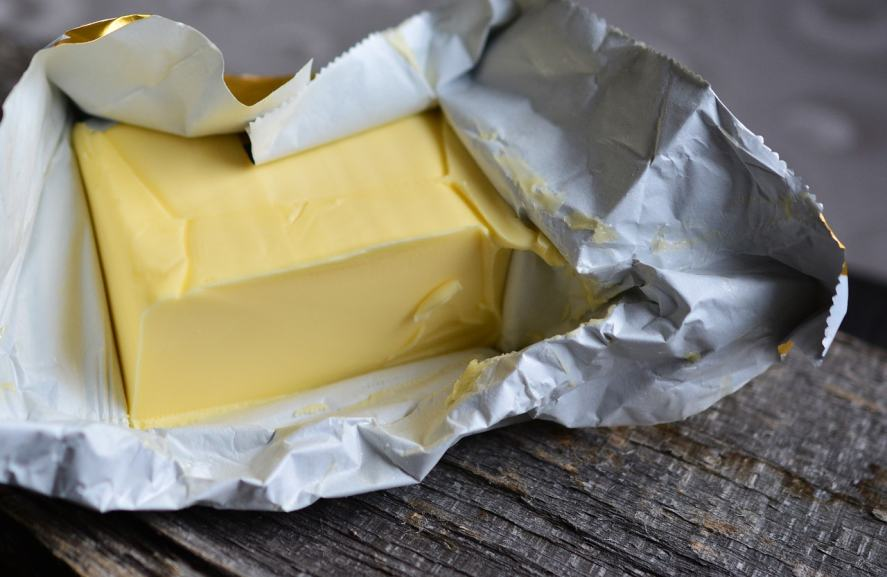 A pack of butter