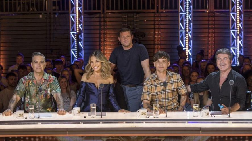 The X F8actor judging panel 201