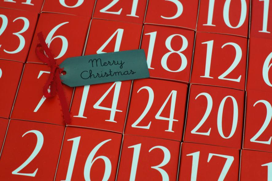 A fancy advent calendar