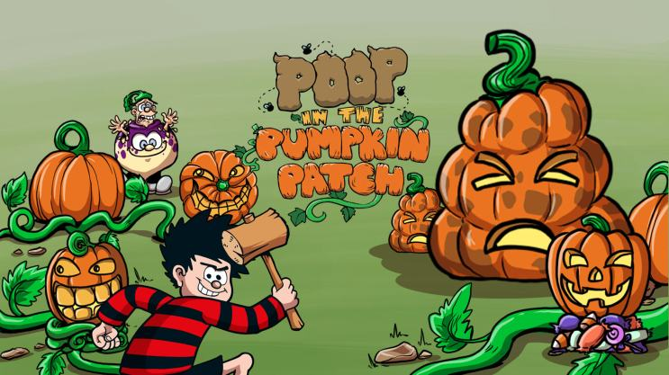 Poop in the Pumpkin Patch!