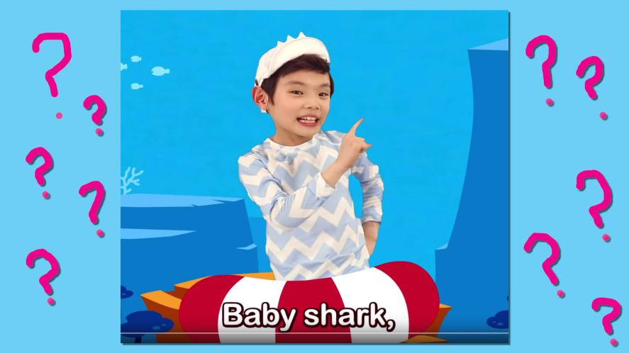 The Baby Shark section of the song   Baby Shark Quiz