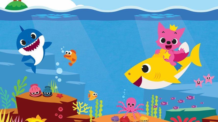 Baby Shark and some fish   Baby Shark Quiz