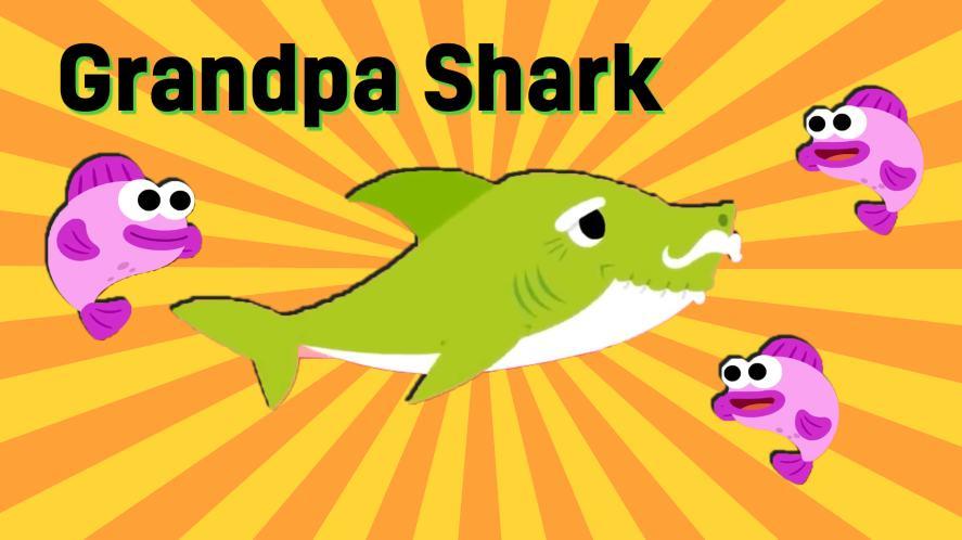 Grandpa Shark and fish   Baby Shark Quiz
