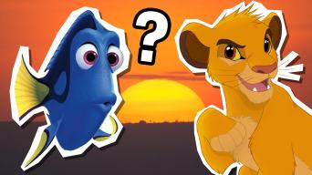 Dory and Simba