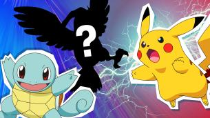 Squirtle, Pikachu and who's that pokemon?