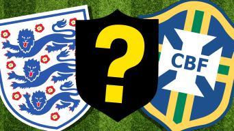 england and brazil