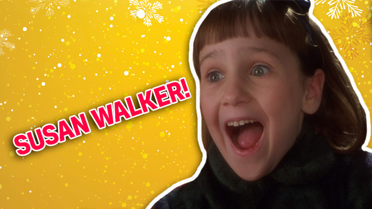 Susan Walker from Miracle on 34th Street