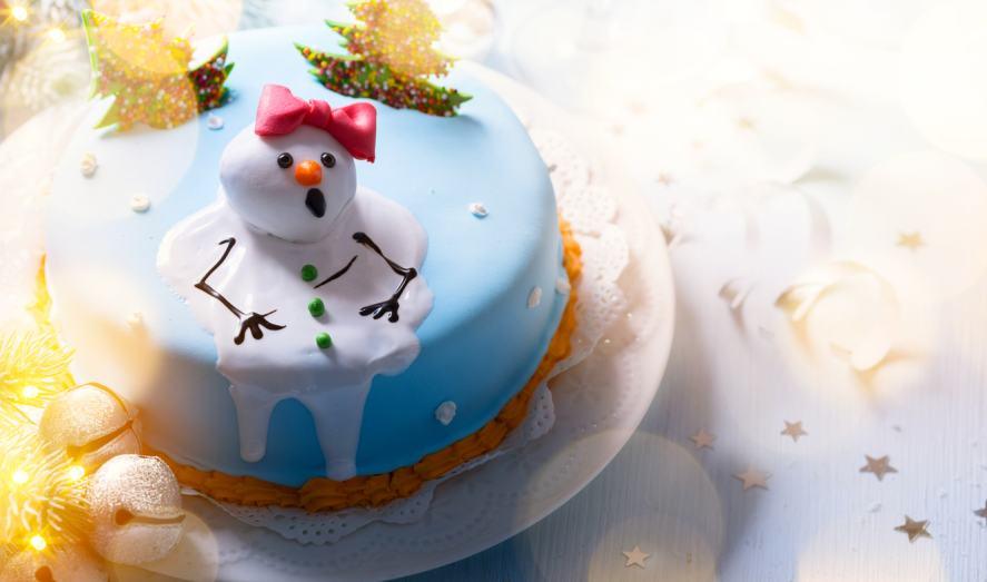 A festive cake