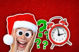 Can you get to sleep before Santa arrives