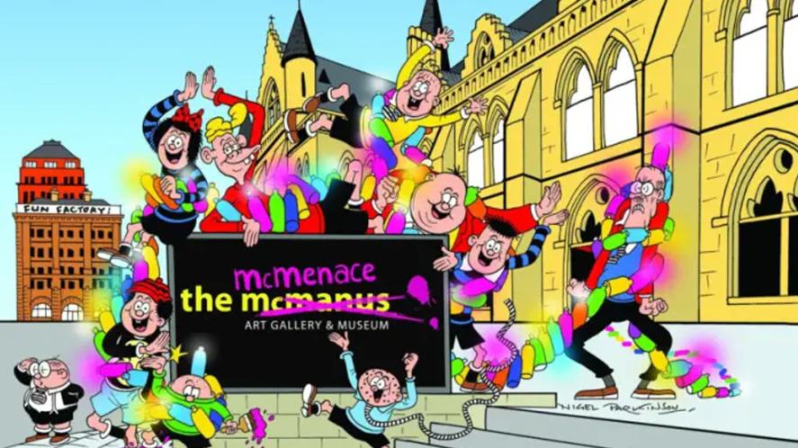 Big Beano Quiz 2018 - The McMenace