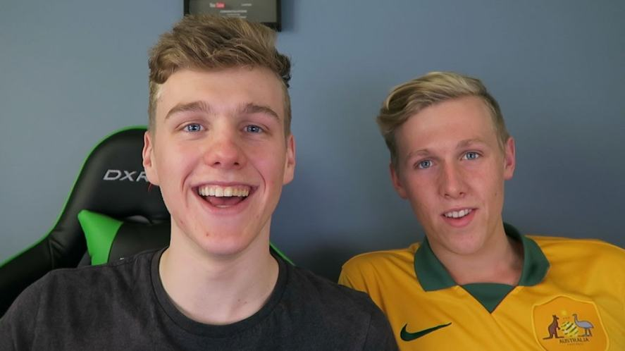 Lachlan Power and his brother