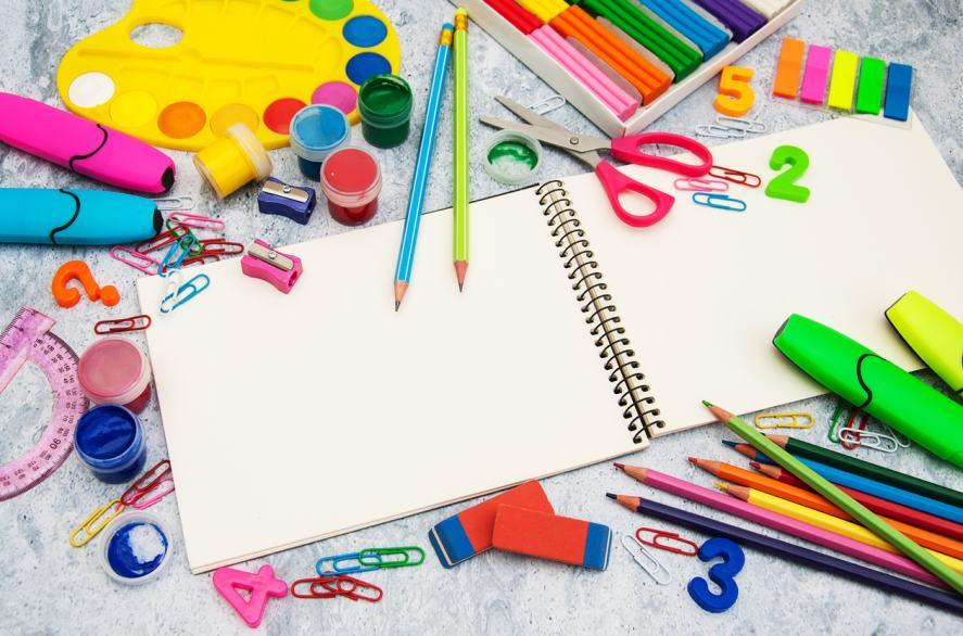 Homework and stationery