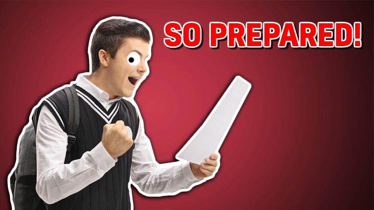 SO PREPARED