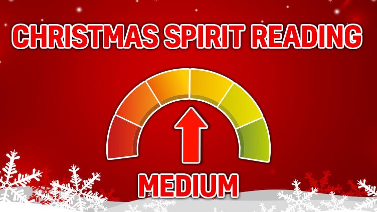 Christmas Spirit Rating: MEDIUM!