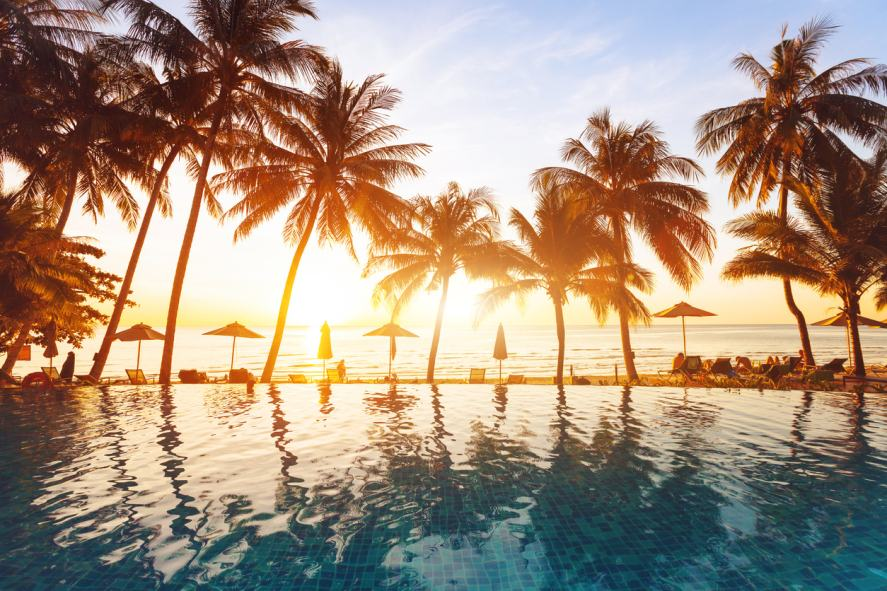A holiday resort