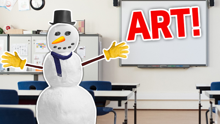 Your favourite subject is: ART!
