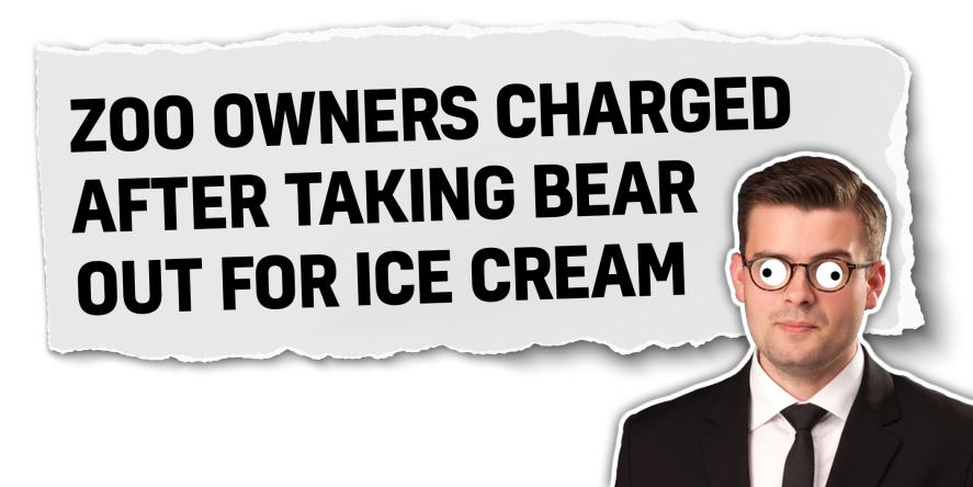 Zoo owners charged after taking bear for ice cream