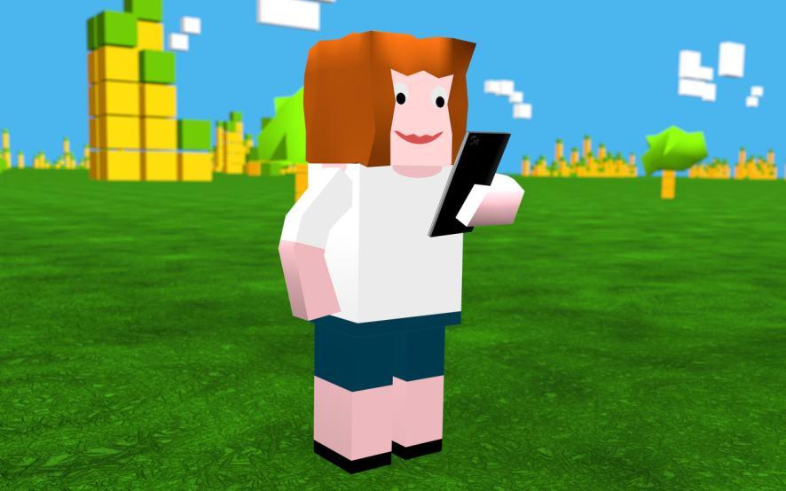 An online avatar