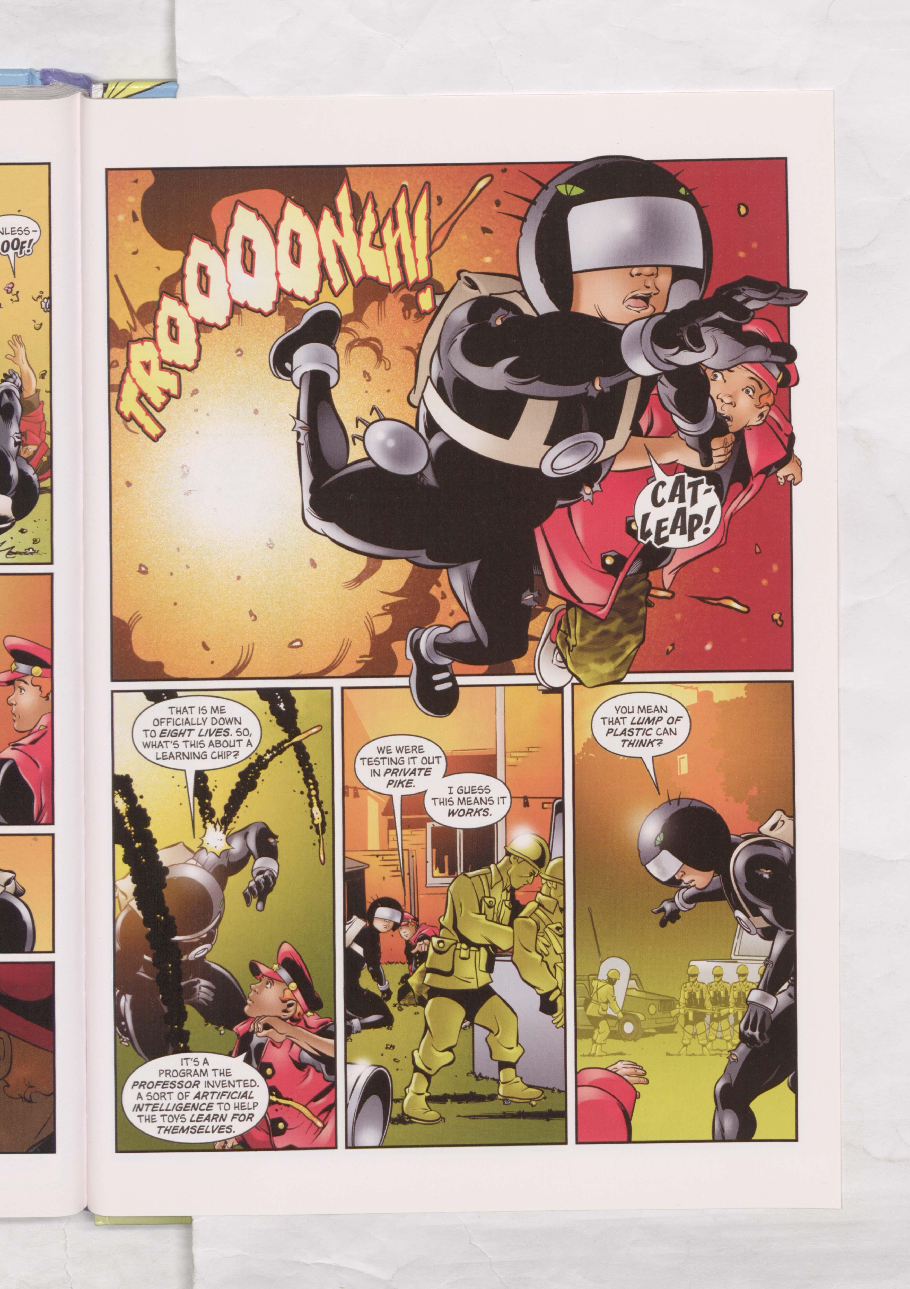 Billy the Cat versus General Jumbo! - Beano Annual 2008
