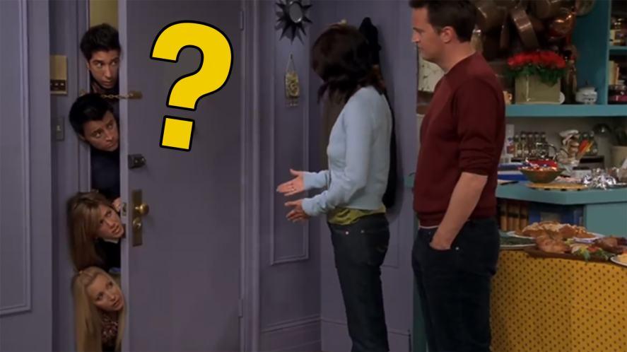 Monica Geller's door