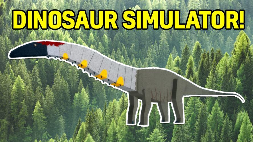 An Apatosaurus in Dinosaur Simulator