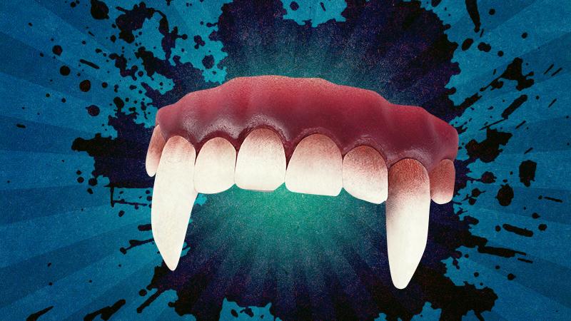 Large vampire fangs