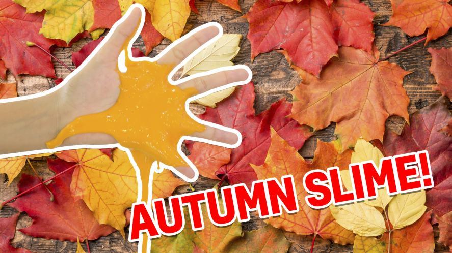 An autumnal blob of orange slime