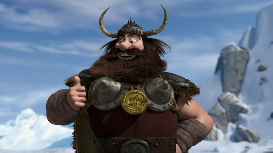A Viking in How to Train Your Dragon