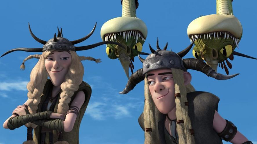 Twins in How to Train Your Dragon