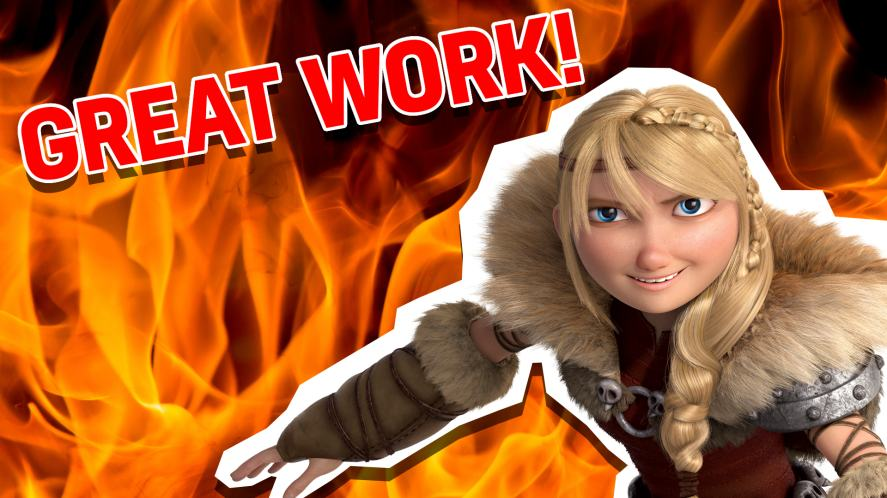 Astrid in How to Train Your Dragon 2