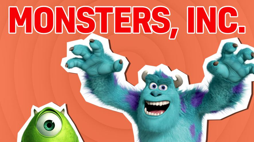 Mike and Sully from Monsters, Inc.