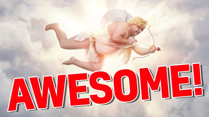 Cupid says your score is awesome!