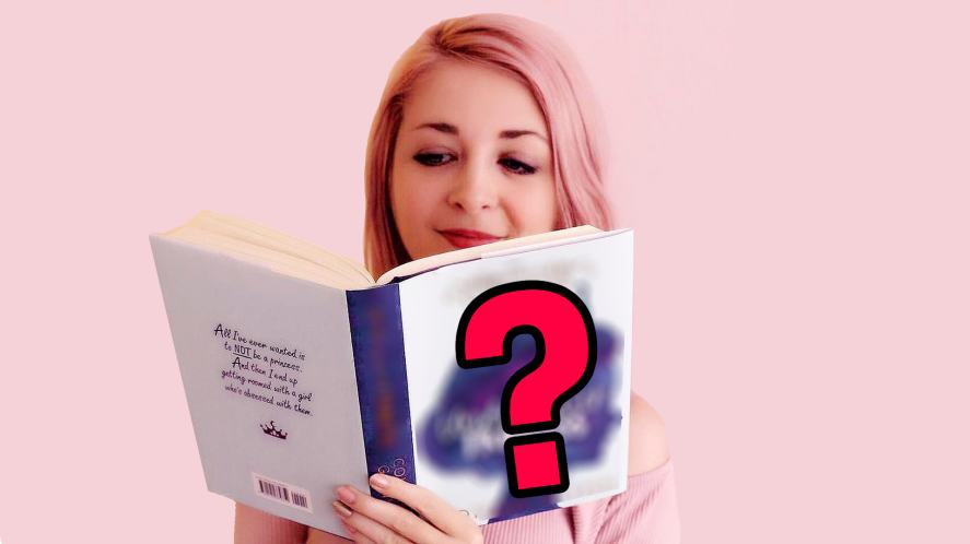 Connie Glynn reading her book