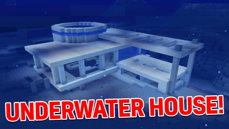 An underwater house