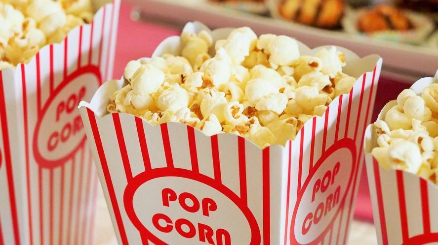 Boxes of delicious popcorn