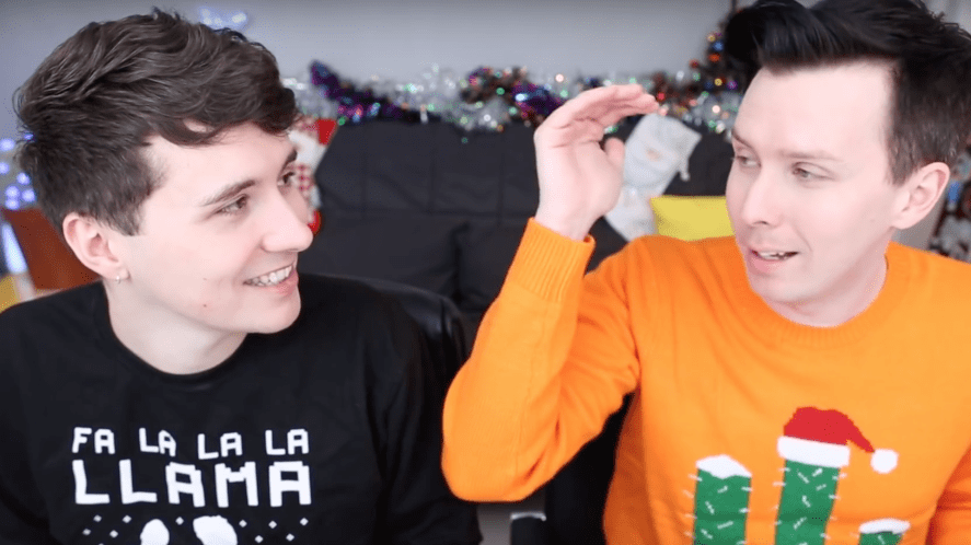 Dan and Phil play The Sims on their gaming channel