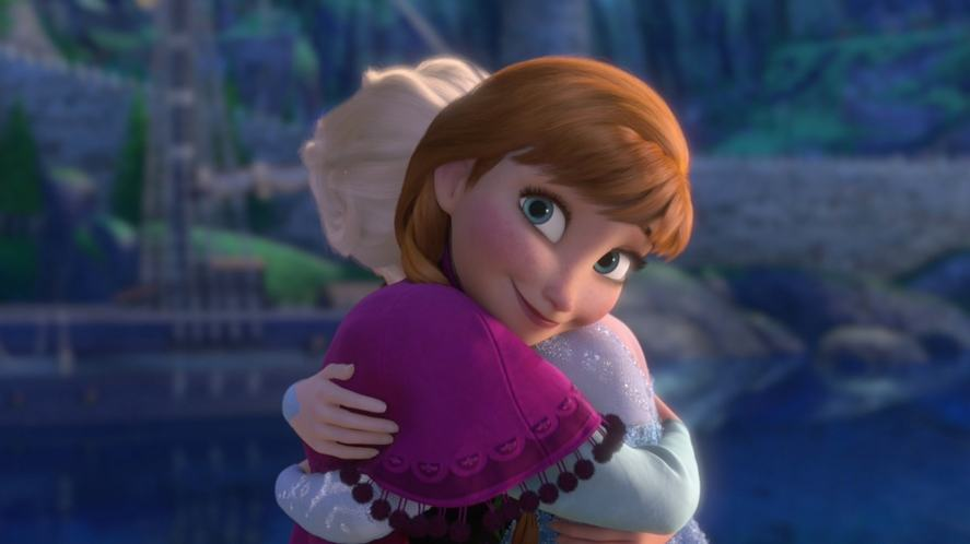 The two sisters in Frozen